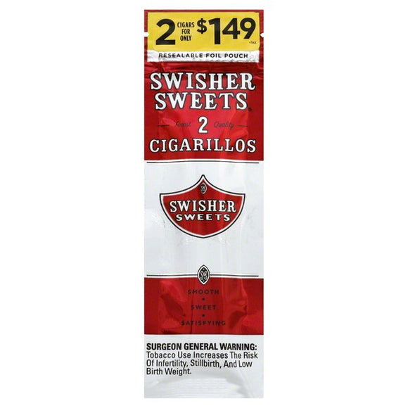 Swisher Sweets Classic Cigarillos - alcobacco-store