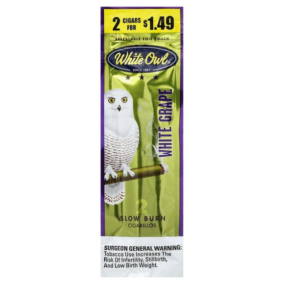 White Owl White Grape Cigarillos - alcobacco-store
