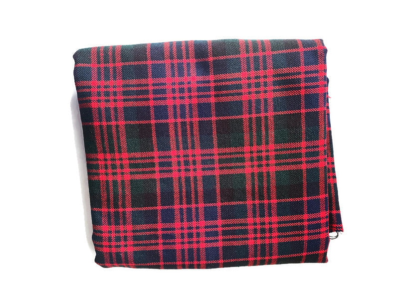 Custom State Blanket | Scottish Plaid