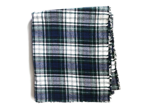 Custom State Blanket | Earthy Plaid