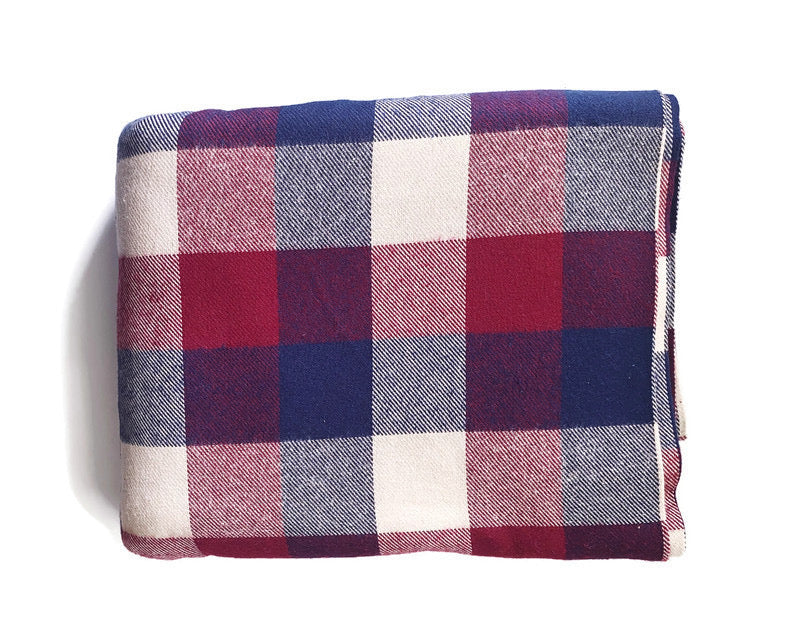 Custom State Blanket | Warm Plaid