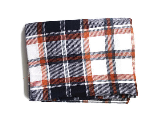 Custom State Blanket | Fall Plaid