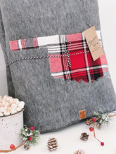 Load image into Gallery viewer, Oklahoma Custom State Blanket | Apple Cider Plaid
