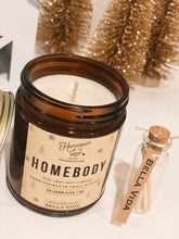 Load image into Gallery viewer, Homebody Candle | Soy Candle | Valentines Gift | Cinnamon | Vanilla | Nugmeg