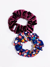 Load image into Gallery viewer, Knotty Gal Scrunchy Combo - Rita and Reese