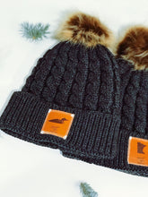 Load image into Gallery viewer, BOGO Minnesota Winter Beanie with Leather Patch