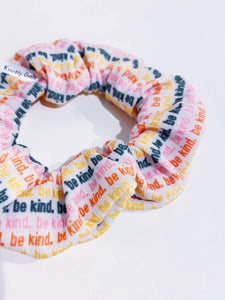 Be Kind Knotty Gal Scrunchy - HomespunTrades