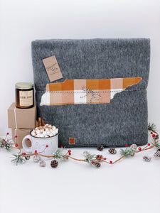 "Tennessee Fleece Blanket | 66""x90"""