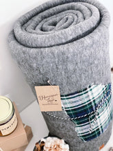 "Load image into Gallery viewer, Georgia Fleece Blanket | 66""x90"" - HomespunTrades"