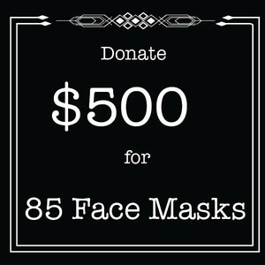 Face Mask- Tier 4 Donation