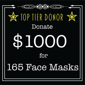 Face Mask - Top Tier Donation