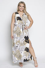 Load image into Gallery viewer, Leopard Print Maxi Dress