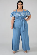 Load image into Gallery viewer, Oh So Classic Denim Jumpsuit