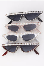 Load image into Gallery viewer, Yonce Bling Rhinestone Sunglasses