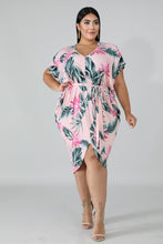 Load image into Gallery viewer, Kimono Floral Dress