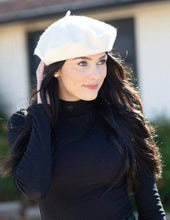 Load image into Gallery viewer, Oui Oui Beret - Ivory