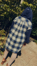 Load image into Gallery viewer, Plaid Hoodie Shirt