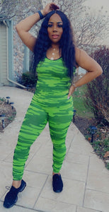 High Gear Legging Set - Neon Green
