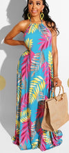 Load image into Gallery viewer, Palms Maxi Dress