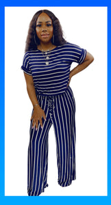 All About You Jumpsuit - Navy