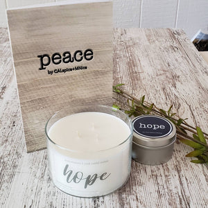 Peace Journal and Peace Candle Bundle