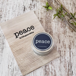 Peace Journal and Peace Mini Candle