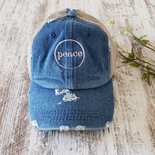 Denim Trucker Hat
