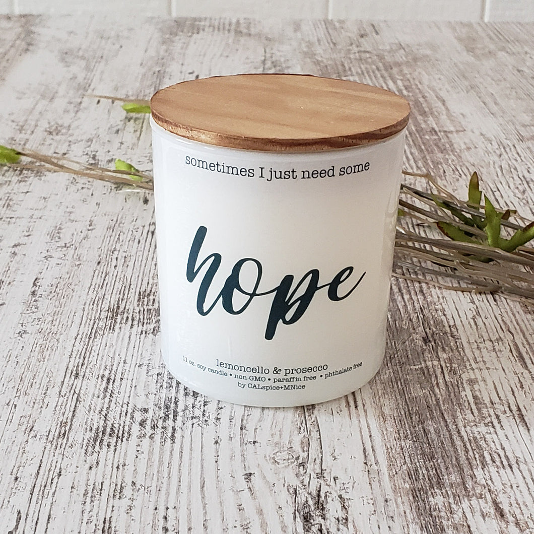 Hope 11oz. Non-Toxic Candle