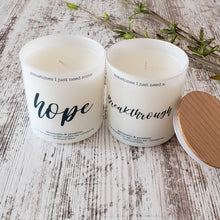 breakthrough candle scented candles gifts for those who need breakthrough