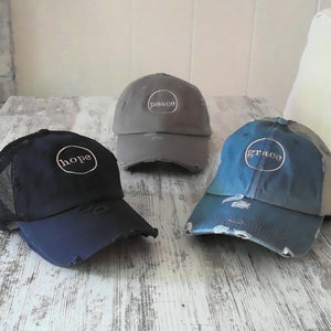 Hope Denim Trucker Hat
