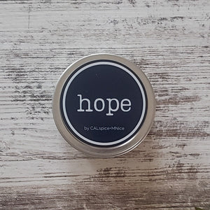 Hope 6 oz. Seamless Tin with Lemoncello & Prosecco Scent