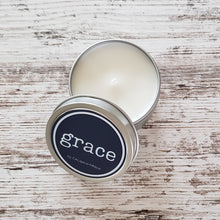 Grace 6 oz. Seamless Tin with Pear Blossom & Clementine