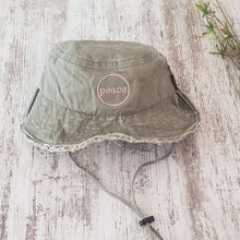 Bucket Hat - Distressed Olive