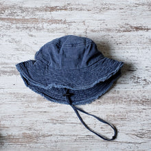 Bucket Hat - Distressed Navy