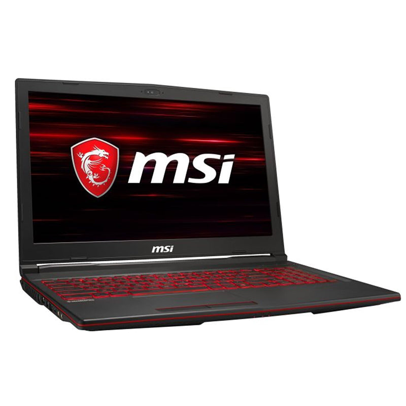"MSI GL63 8RD-012 Gaming Notebook 15,6"" Full HD, Core i7-8750H, GTX 1050Ti 4GB, 8GB RAM, 1000GB Speicher, FreeDOS"