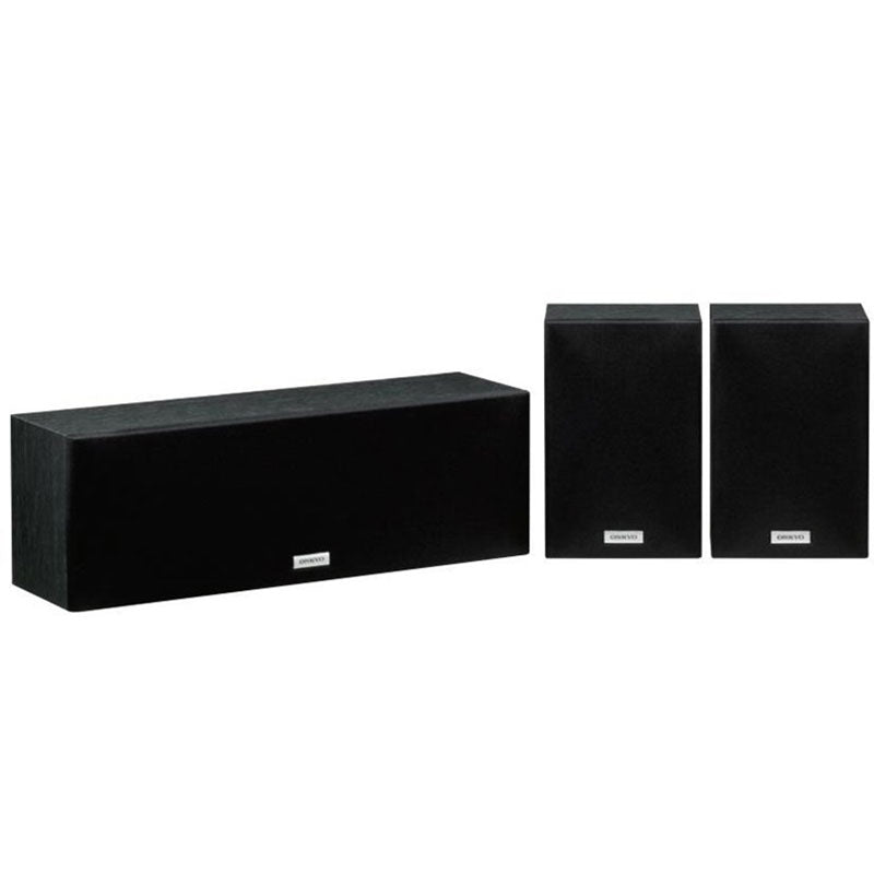 ONKYO SKS-4800-B (schwarz) (130 Watt, Center-/Surround-Lautsprecher-Set)