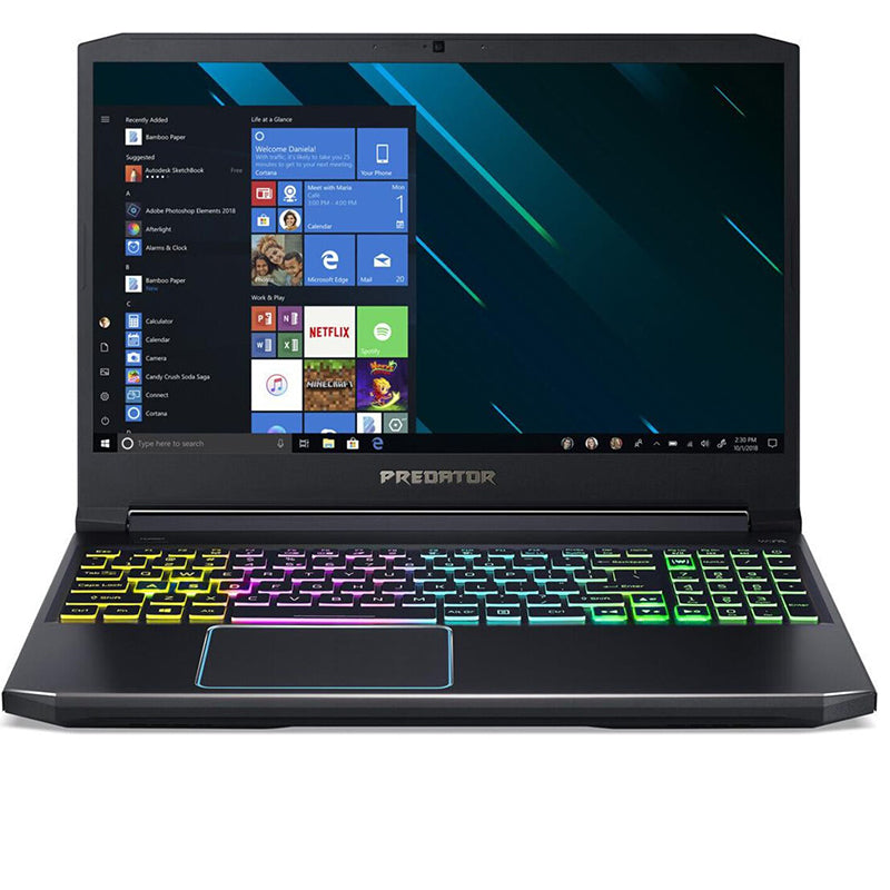 "Acer Predator Helios 300 (PH317-53-77NT) Gaming 17,3"" Full HD IPS 144Hz, i7-9750H, RTX 2070, 32GB RAM, 2x 512GB SSD, Win10"