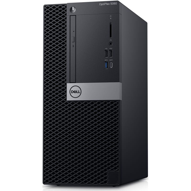 Dell OptiPlex 5060 MT 16F65 - Intel Core i7-8700, 8GB RAM, 256GB SSD, Intel UHD Grafik 630, Win10