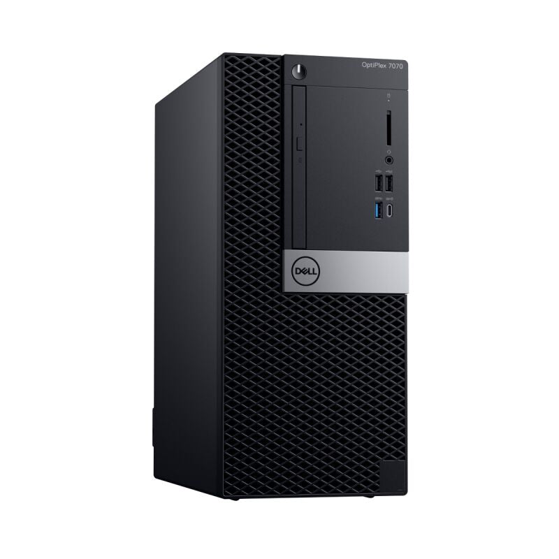 DELL OptiPlex 7070 MT D880V Intel i5-9500, 8GB RAM, 256GB SSD, DVD RW, Intel UHD-Grafik 630, Win10Pro