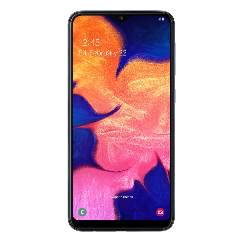 "Samsung Galaxy A10 32GB Dual-SIM Schwarz EU [15,8cm (6,2"") LCD Display, Android 9.0, 13 MP Hauptkamera]"