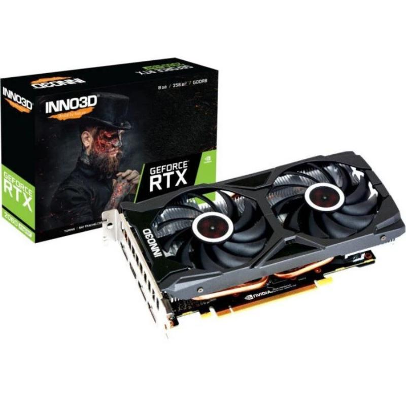 INNO3D GeForce RTX 2060 SUPER Twin X2 OC Grafikkarte 8GB GDDR6 - 3x DisplayPort/1x HDMI