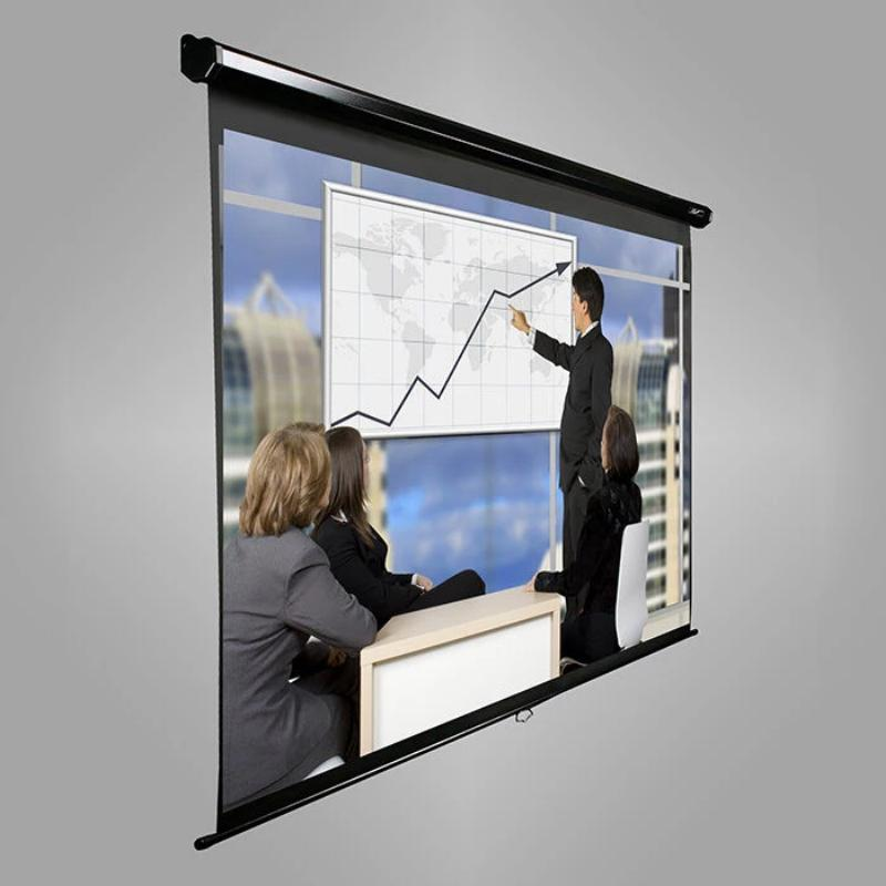 Elite Screens 4:3 Rollo Leinwand 170 x 127 MaxWhite