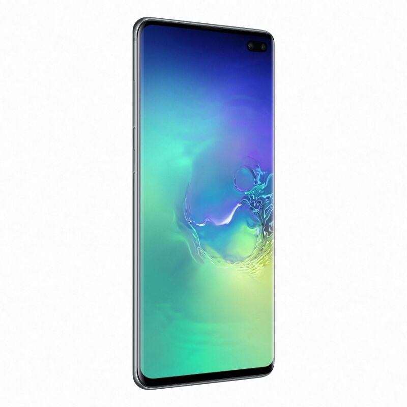 "Samsung Galaxy S10+ 128 GB Prism Green [16,35cm (6,4"") OLED Display, Android 9.0, 12+16+12MP Triple Hauptkamera]"