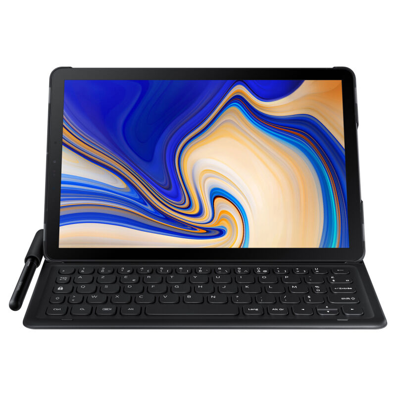 "Samsung Galaxy Tab S4 T830 WiFi Tablet Grau + KeyboardCover 10.5"" OLED Display, Octa-Core, 4GB RAM, 64GB Speicher, 8MP, Android"