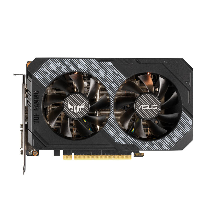 ASUS TUF Gaming GeForce RTX 2060 OC-Edition Grafikkarte - 6GB GDDR6, 1x DisplayPort / 2x HDMI / 1x DVI