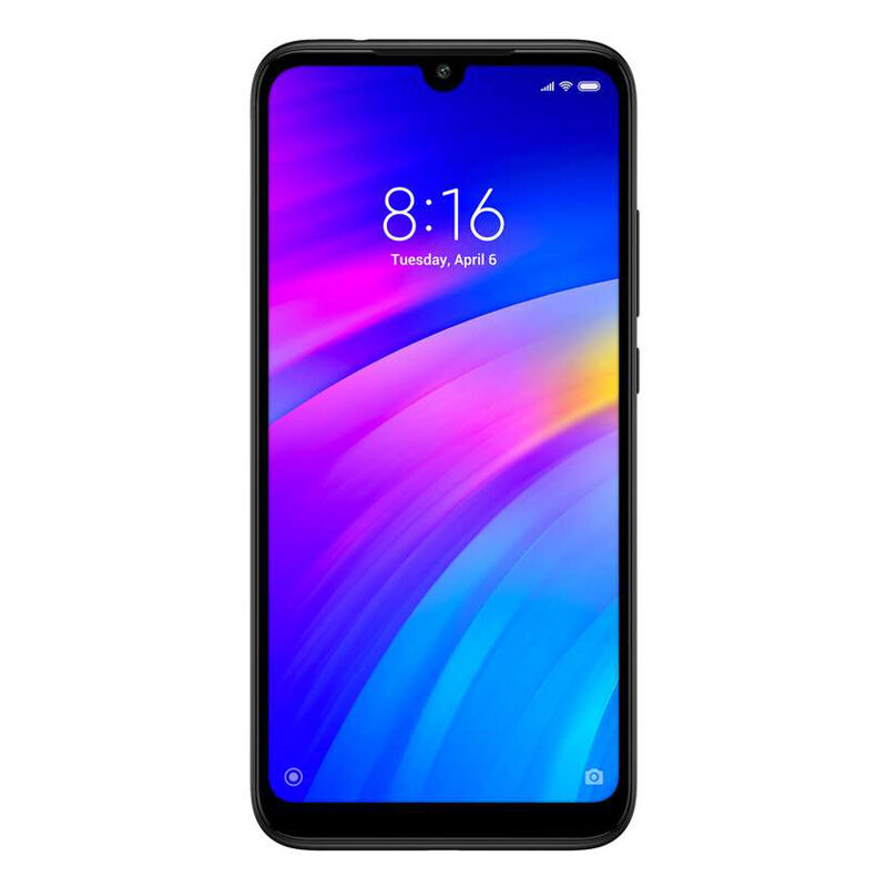 "Xiaomi Redmi 7 16GB Dual-SIM Schwarz EU [15,9cm (6,26"") LCD Display, Android 9.0, 12+2MP Dualkamera]"