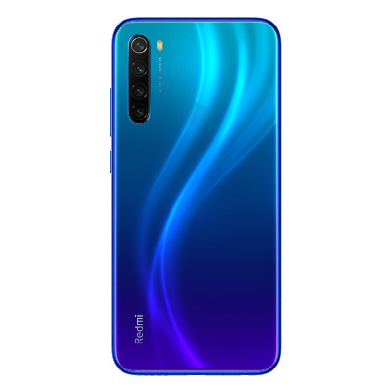 "Xiaomi Redmi Note 8 128GB Dual-SIM Blau EU [16cm (6,3"") LCD Display, Android 9.0, 48MP AI Quad-Kamera]"