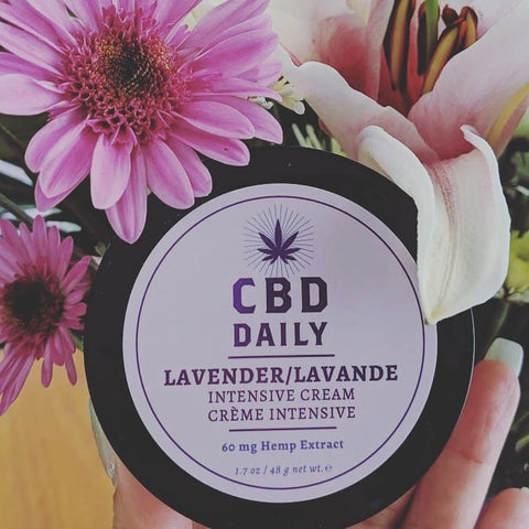 CBD Daily Lavender Intensive Cream