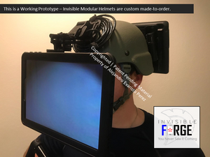 Invisible Modular Helmets