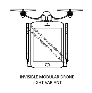 Invisible Modular Flying Drones